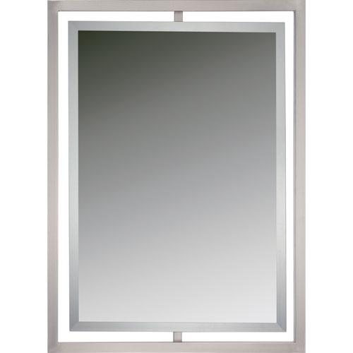 Bathroom Mirror Brushed Nickel brushed nickel framed mirror - 15 misconception about mixing metal