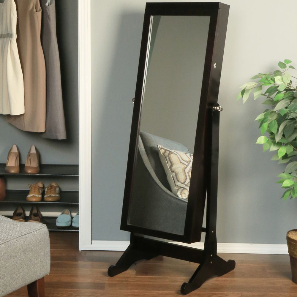TOP 10 reasons why full length mirror jewelry armoire is MUST