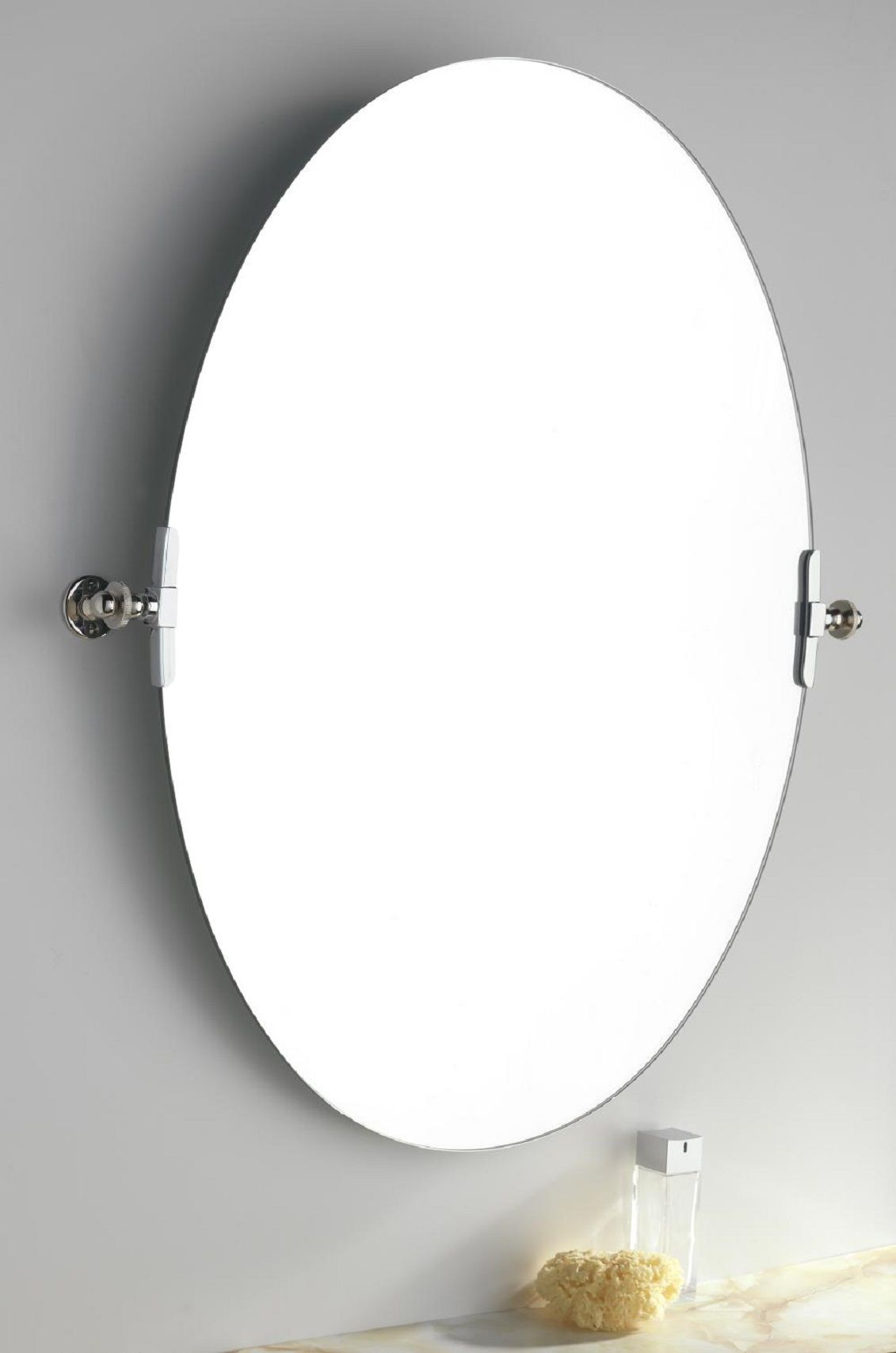 Bathroom oval mirrors add beauty and elegance to your bathroom