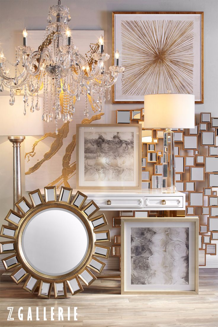 Gist your rooms a royal look with z gallerie mirrors for Mirror z gallerie